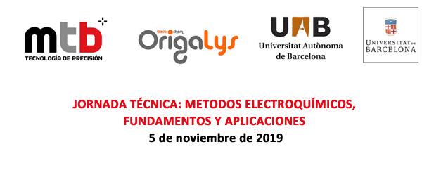 Jornada técnica- Métodos electroquímicos, fundamentos y aplicaciones