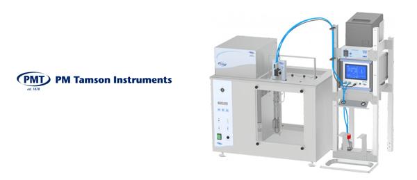 Nuevo equipo TV4000 AKV EASY de Tamson - Baño semiautomático de viscosidad