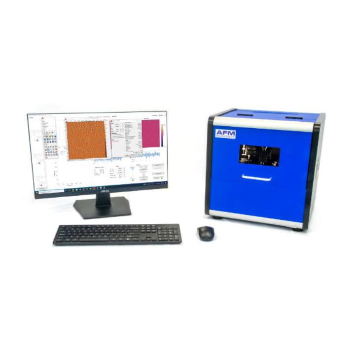 B AFM - Microscopio de fuerza atómica básico para aplicaciones rutinarias y fines educativos