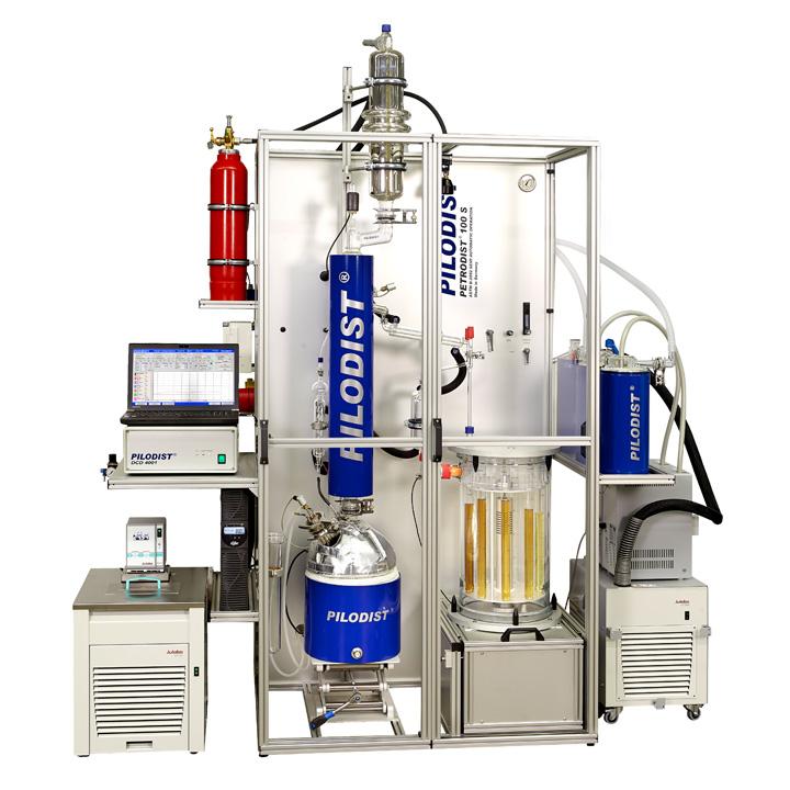 PD 100S - Destilación semi-automática curva TBP