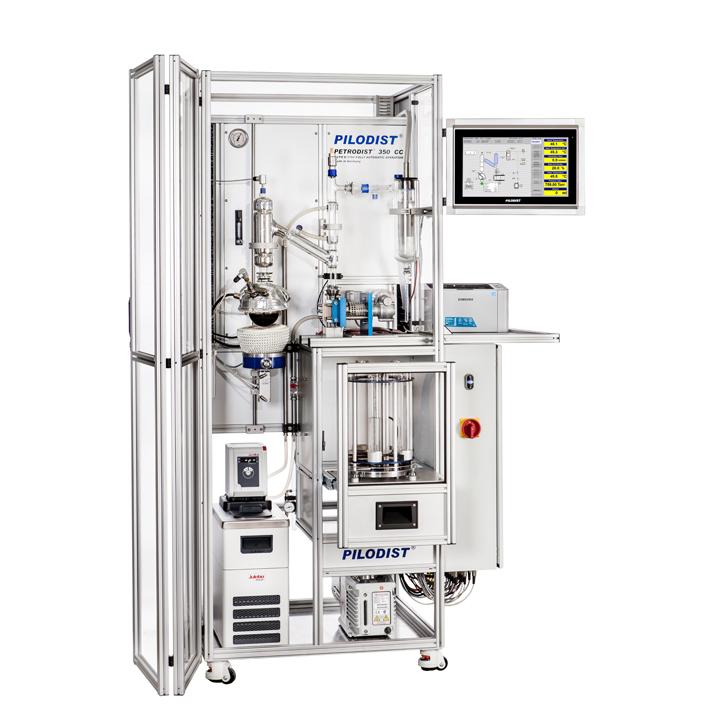 PD 350CC - Destilador automático a vacío fraccionado