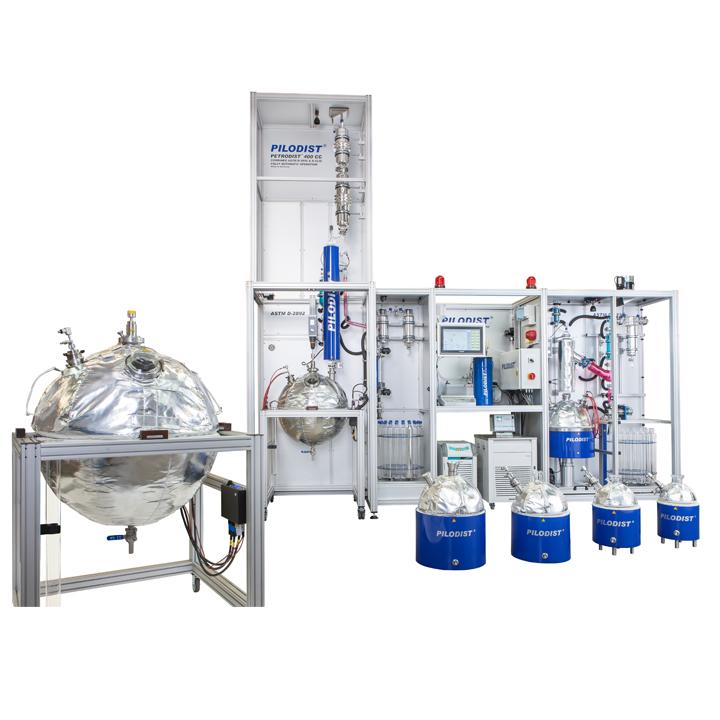 PD400CC - Destilador automático combinado TBP y POTSTILL