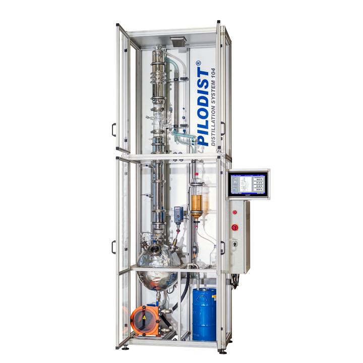 PILODIST 104 - Sistema versátil de destilación