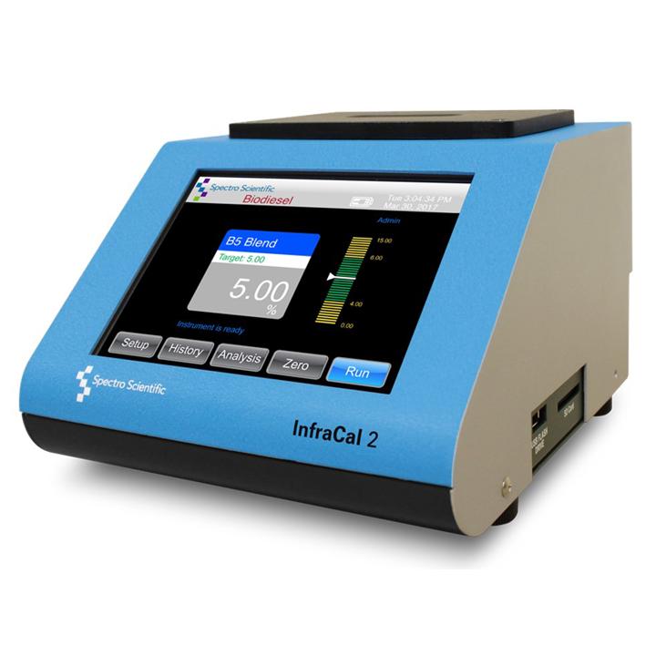 InfraCal 2 ATR-B  - Analizador de Biodiesel en Diesel