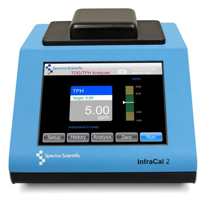 InfraCal 2 ATR-TRANS  - Analizador de aceites en agua y suelos
