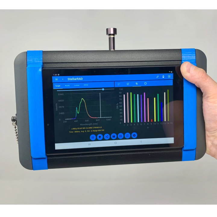 StellarNet Inc StellarNet Stellar-RAD - Espectro Radiómetro de mano UV-VIS-NIR