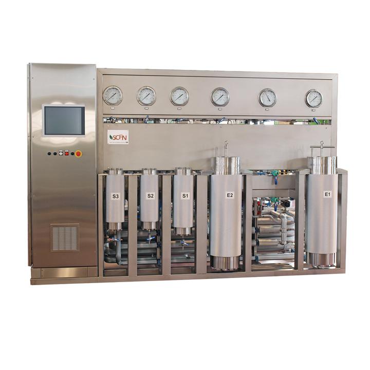 Sistemas de extracción y purificación por CO2 supercrítico